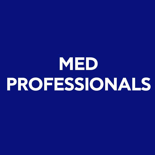 Med professional